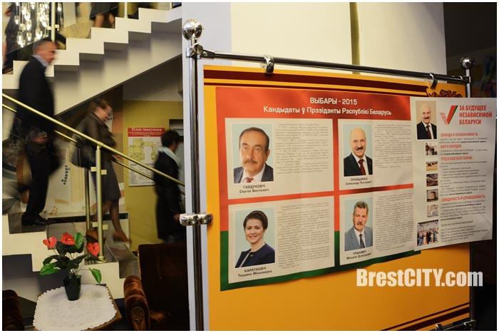 Выборы Президента 2015 в Беларуси. Фото BrestCITY.com