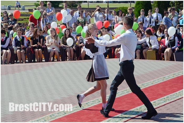 Награждение медалистов 2015 года в Бресте Московский район
