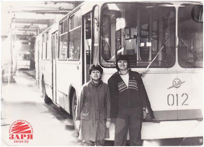 35 лет троллейбусному парку Бреста