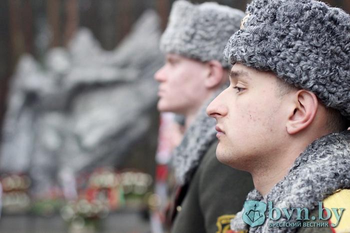 Годовщина вывода советских войск из Афганистана. Митинг в Бресте