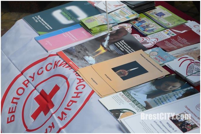 Акция по профилактике ВИЧ в Бресте 17 мая 2016. Фото BrestCITY.com