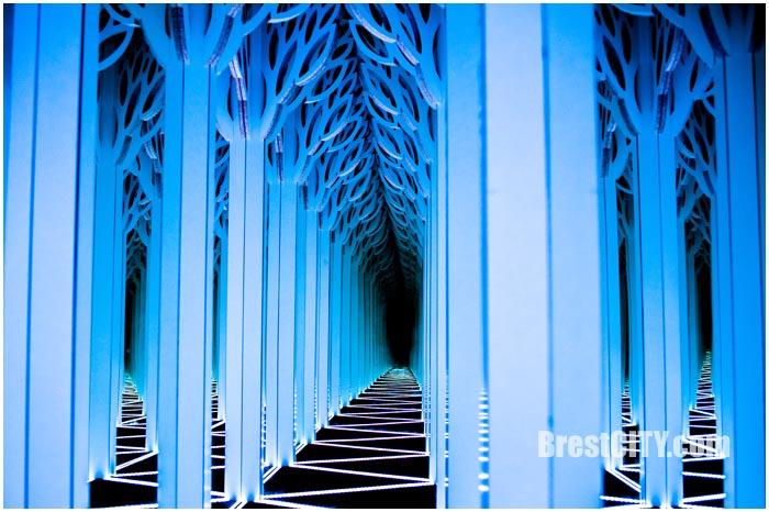 Алиса в Зазеркалье - лабиринт в Бресте
