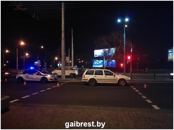 В Бресте сбили пьяного пешехода
