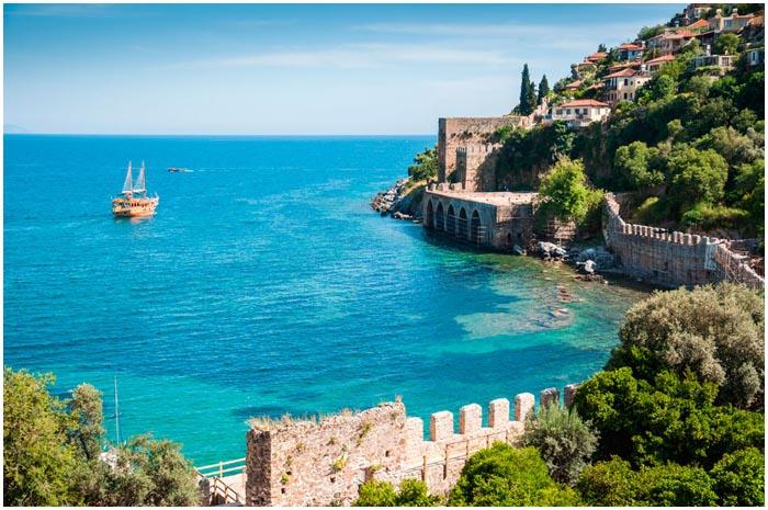 Анталия. Средиземное море