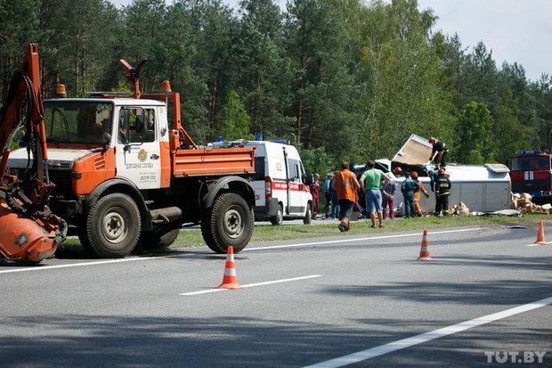 Авария в Кобринском районе 22 июня 2016