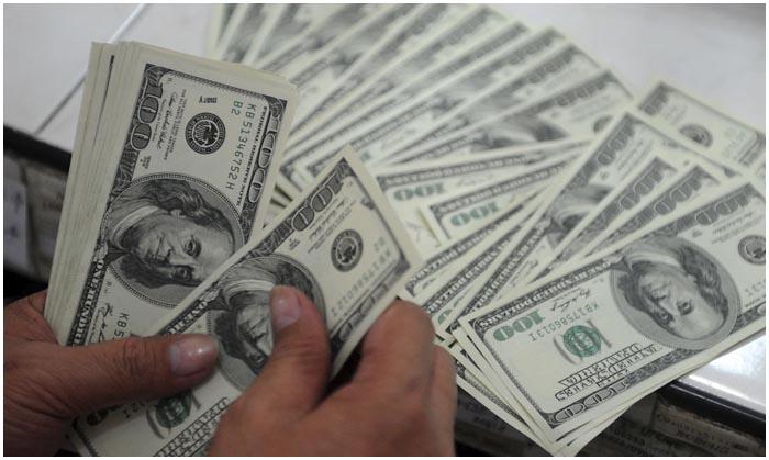 Пачка денег. Доллары