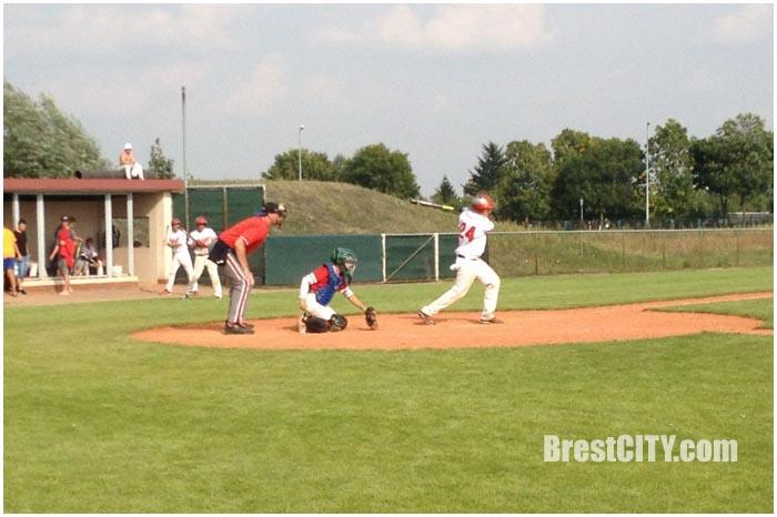 Брестские зубры. Бейсбол