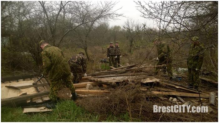 Субботник в микрорайоне Березовка 9 апреля 2016