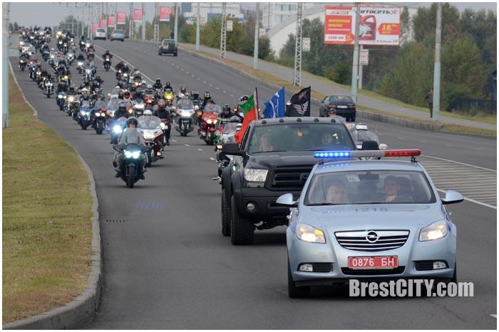 Закрытие мотосезона 2016 в Бресте. Фото BrestCITY.com