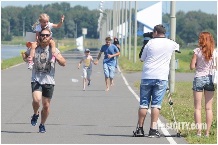 Забег бородачей в Бресте 31 июля 2016. Фото BrestCITY.com
