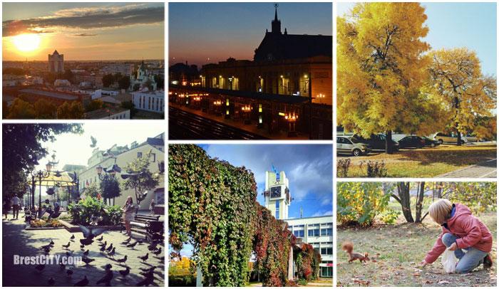 Осенние фотографии Бреста в инстаграме