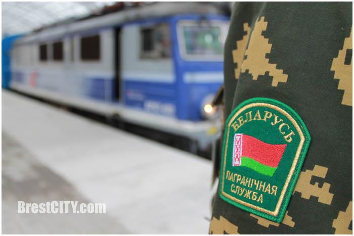 Поезд Брест-Тересполь