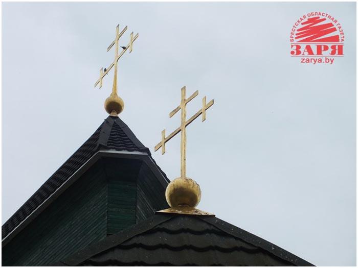 Треугольная церковь в Барановичском районе