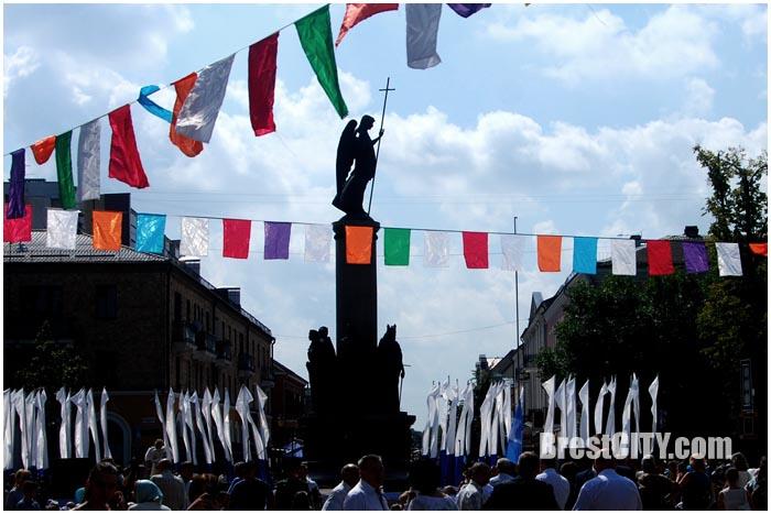 День города на улице Советской в Бресте. Фото BrestCITY.com