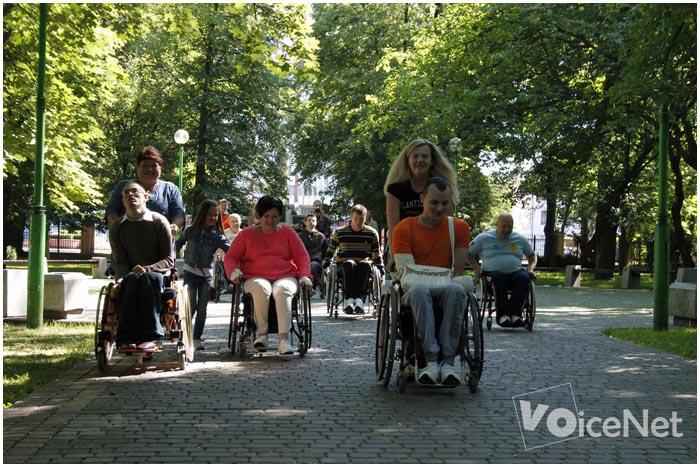 День инвалидов в Бресте. Берестейский забег с Юлией Нестеренко