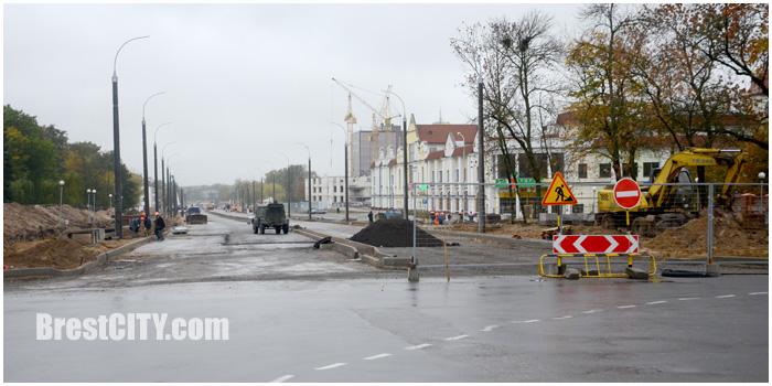 Новая дорога к звезде Брестской крепости. Фото BrestCITY.com