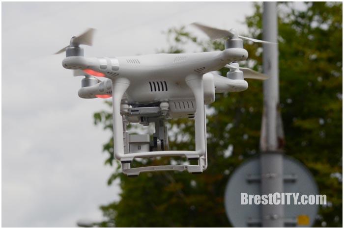 Квадрокоптер. Фото BrestCITY.com