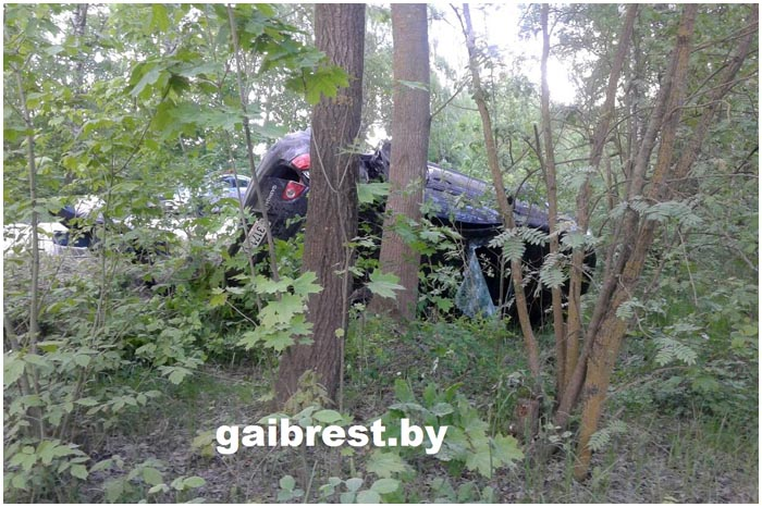 Авария в Жабинковском районе Бреста