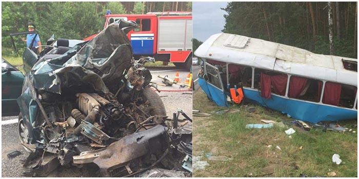 Авария в Пинском районе 28 июня