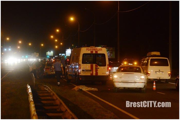 На варшавке насмерть сбили человека. Фото BrestCITY.com