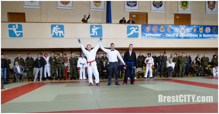 Соревнования по рукопашному бою. БФСО Динамо