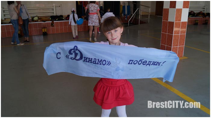 Брестских школьников приняли в Юный динамовец