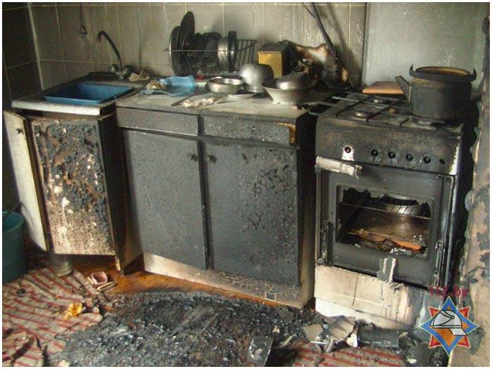 Пожар в Барановичском районе 1 августа 2016