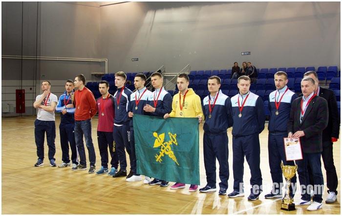 Золотые медали по футзалу у Брестского Меркурия. Таможенный комитет