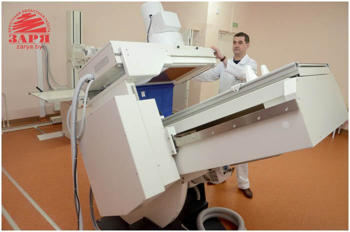 Инфекционный корпус открыли в Брестской областной больнице