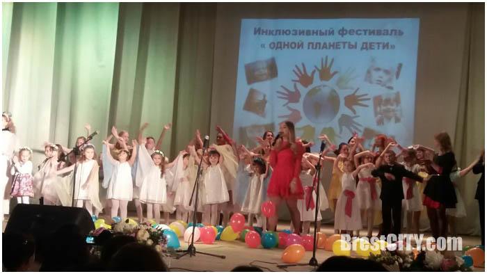 Фестиваль Дети одной планеты в Жабинке