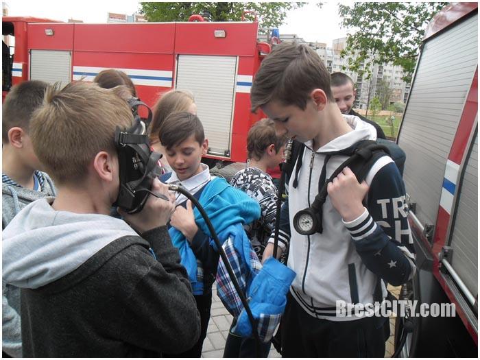 МЧС в санаторной школе-интернат в Бресте