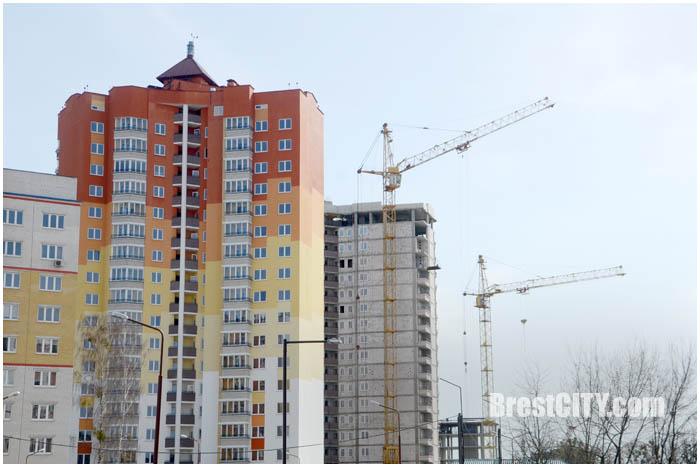 Строительство жилых домов. Военный городок Интендантский