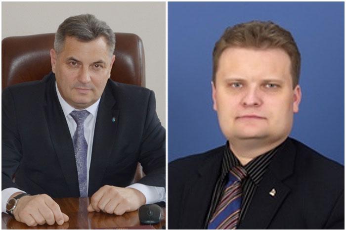 Богуцкий и Иванчин. Брестский горисполком