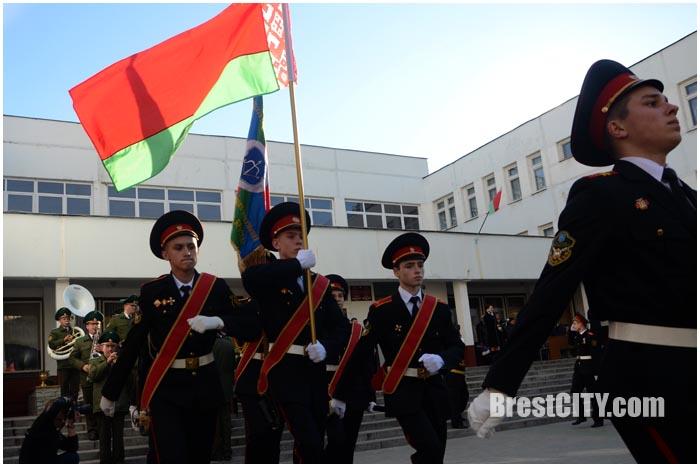 Посвящение в кадеты в 35-й школе Бреста. Фото BrestCITY.com