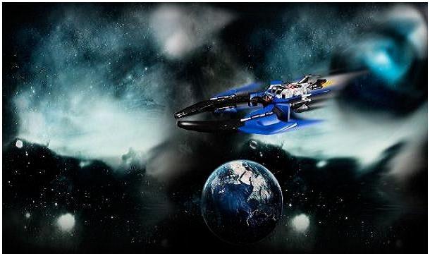 Космический корабль угнали