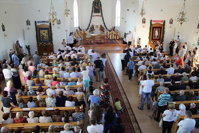 Костел на улице Суворова в Бресте освятили