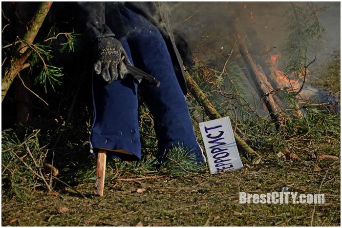 Масленица в Бресте. В парке воинов-интернационалистов 13 марта 2016