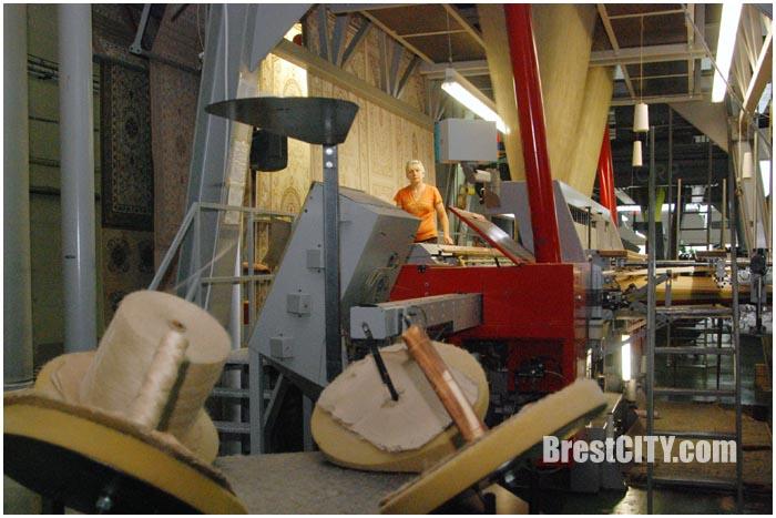 Брестский ковровый комбинат. Фото BrestCITY.com