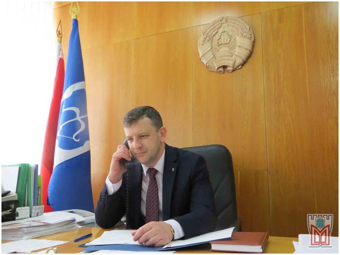 Глава администрации Московского района Бреста Вадим Кравчук