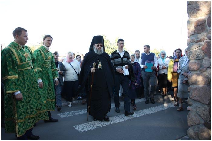 Крестный ход в Бресте 18 сентября 2016