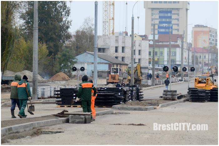 Новая дорога возле Брестской крепости. Фото BrestCITY.com