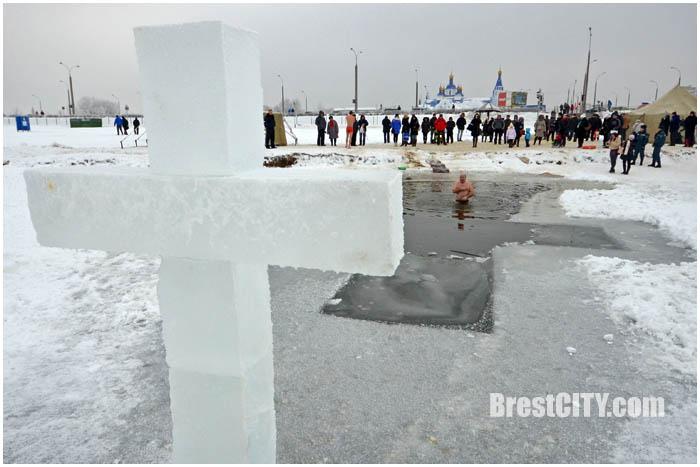 Крещение в Бресте 19 января 2016. Фото BrestCITY.com