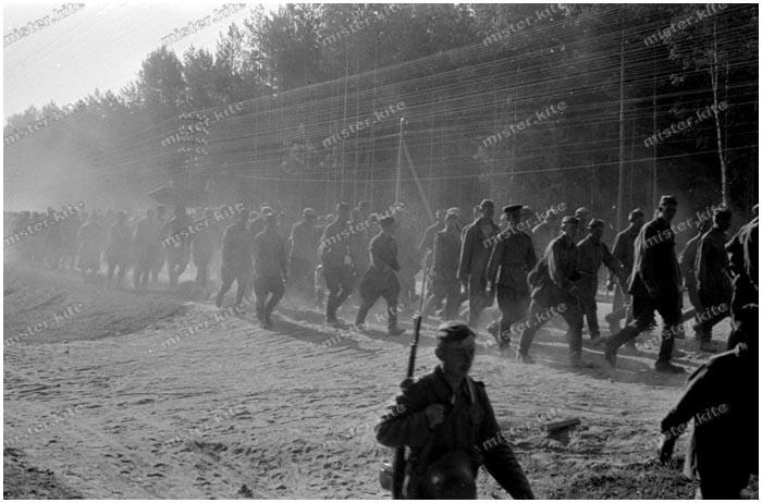 Лагерь для немецких военнопленных в Бресте