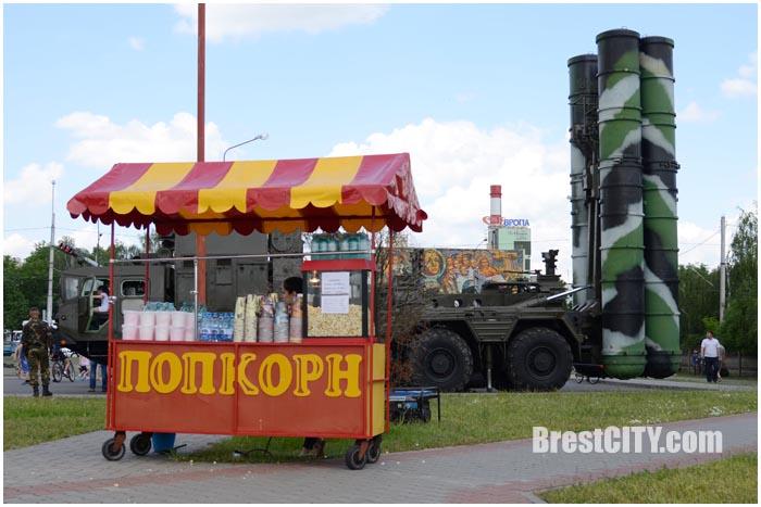 Мотопарад байкеров по Бресту 28 мая 2016. Ледовый. Фото BrestCITY.com