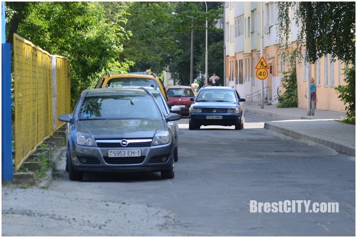 Улица Малая в Бресте. Фото BrestCITY.com