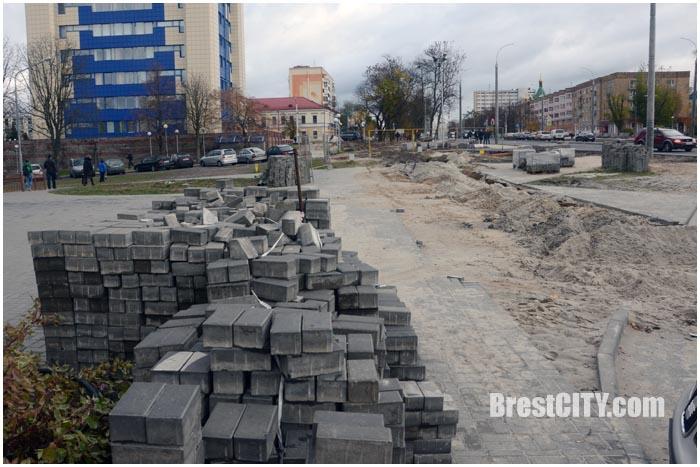 Открыт проспект Машерова в сторону крепости. Фото BrestCITY.com