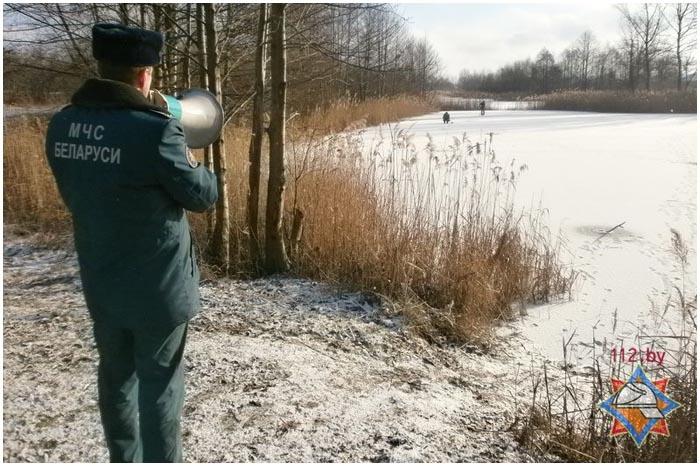 Правила поведения и безопасности на льду от МЧС
