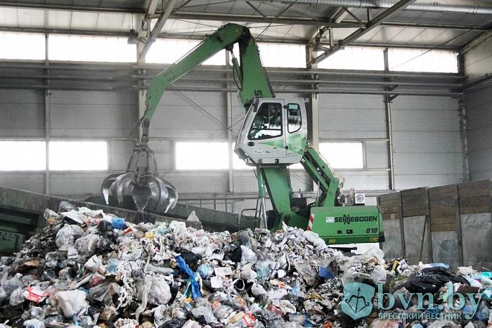 Опасные находки брестского мусороперерабатывающего завода