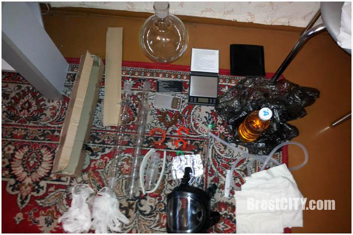 В Кобрине сотрудники милиции накрыли нарколабораторию