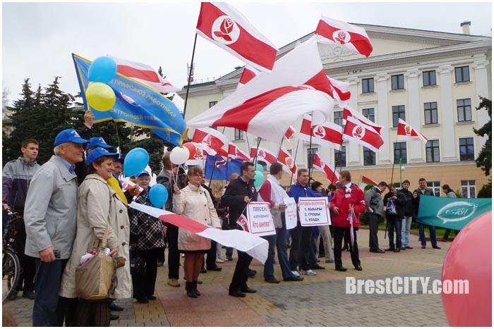 Социал-демократам отказали в проведении демонстрации
